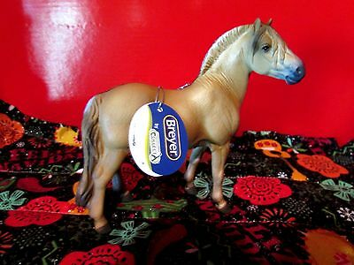 #88591 Corral Pals Dun Norwegian Fjord Stallion Horse Breyer by Collecta NWTs