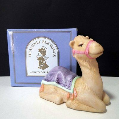 Avon 1986 Heavenly Blessings Christmas Nativity CAMEL New in Box