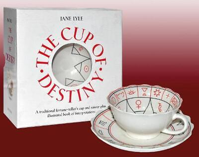 The Cup of Destiny [With Cup/Saucer]: A traditional fortune-teller's cup and sau
