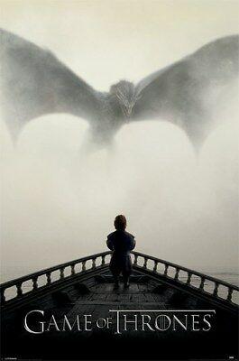 Game of Thrones Maxi Poster 61 x 91,5 cm A Lion & A Dragon