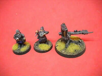 LOTR: Lord of the Rings: nicely painted metal Dwarf Ballista a