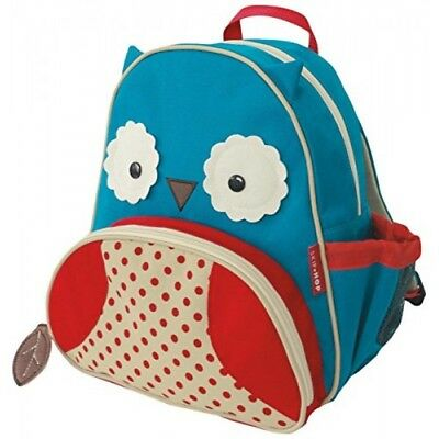 Skip Hop Zoo little kid and toddler harness backpack owl
