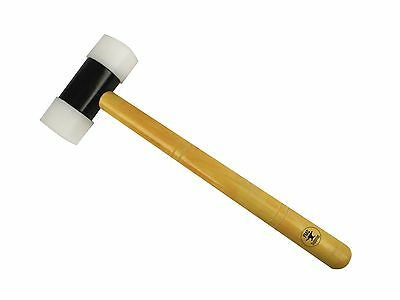 """Nylon Hammer 1-1/2"""" Face Hammer Removable Heads Jewelry Making Tool Metalsmith"""