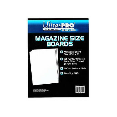 Ultra Pro Comic Storage Accessories - Backing Boards Magazine 100 per packet