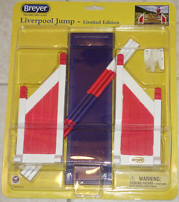 Breyer LIMITED EDITION Traditional Series #2065 Liverpool Jump - NEW SEALED