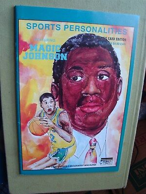Vintage Sports Personalities Magic Johnson Unauthorized Biography Comic Book