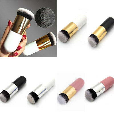 Chubby Pier Foundation Brush Flat Makeup Cream Brushes Professional Cosmetic New