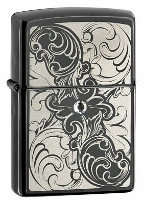 Zippo 28324 New Windproof Lighter - Ebony