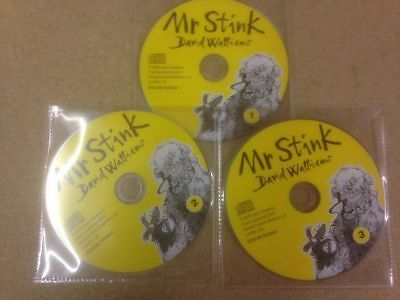 Mr Stink by David Walliams (CD-Audio, 2010) New Taken out of Damaged Packaging