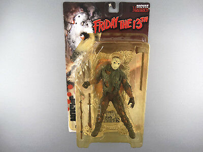 McFarlane Movie Maniacs Series 1 Jason Voorhees from Friday The 13th bloody  OVP