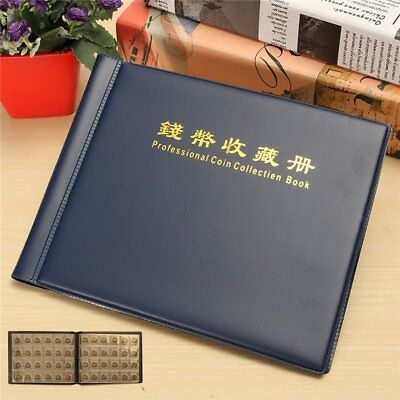240 Holders Collecting Money Penny Book Collection Coin Storage Album RG