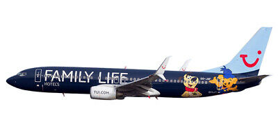 Herpa Snap Wings 1:200 Boeing 737-800 Jetairfly Family Life Hotels 611145