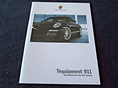 2010 2009 Porsche 911 Tequipment Brochure 997 Accessories Wheels Powerkit Carbon
