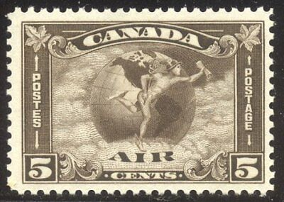 25% CANADA #C2 Mint NH - 1930 5c Olive Brown