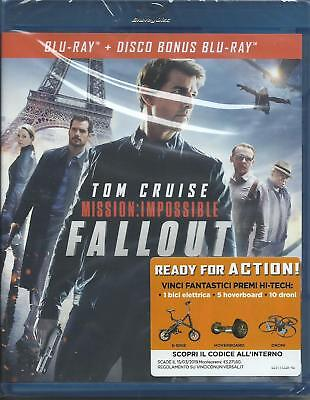 Mission Impossible. Fallout (2018) 2 Blu Ray dal 12/12/2018