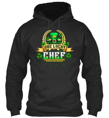 In style St Patricks Day One Lucky Chef Standard College Standard College Hoodie