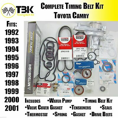Timing Belt Kit COMPLETE Toyota Camry 1992-2001 4 cyl Aisin Water  COMPLETE KIT
