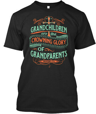 Arent They - Grandchildren Are The Crowning Glory Of Standard Unisex T-shirt