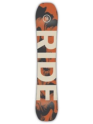 Ride Orange 2019 Berzerker - 163cm Wide Snowboard
