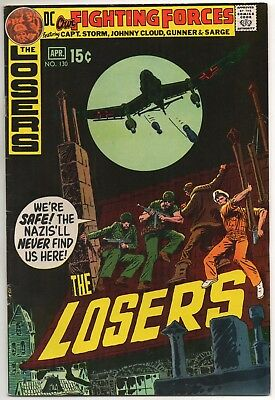 Our Fighting Forces No. 130 Mar-Apr 1971 FN- 5.5  DC  THE LOSERS
