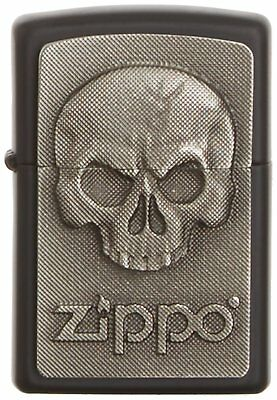 Zippo Phantom Skull Emblem Windproof Pocket Lighter