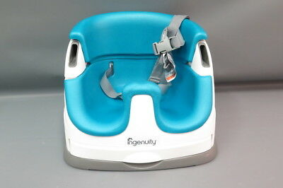 Ingenuity SmartClean Aqua Kids/Toddler Portable Seat Booster High Chair