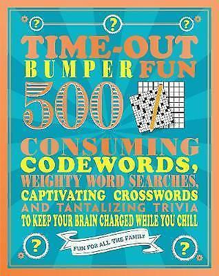 (Good)-Time-Out Bumper Fun: 500 Consuming Codewords, Weighty Word Searches, Capt