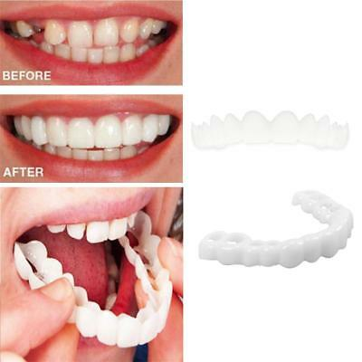 UNISEX PERFECT SMILE Comfort Fit Flex Fake Teeth Top