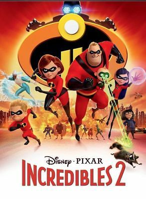 The Incredibles 2 (DVD) Disney Animation Sequel BRAND NEW!! FREE SHIPPING!!
