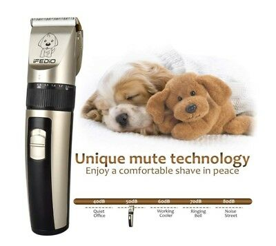 Professional Dog Clippers Rechargeable Dog Grooming Kit Cordless Pet Grooming Cl