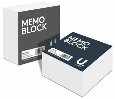Memo Block - 400 SHEETS- Refill/Replace Paper Jotter Office Desk Cube