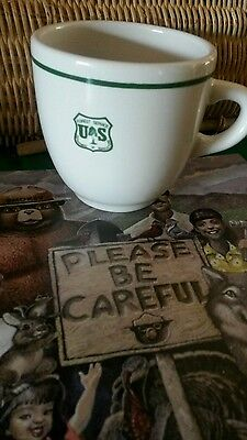 ** Forest Service China Cup.** By Coors China  Company.