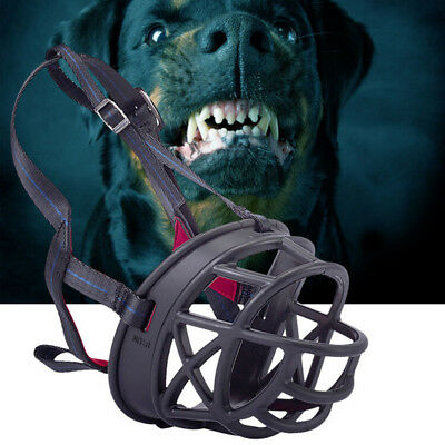 Adjustable Dog Pet Safety Muzzle Biting Barking Chewing Small Medium Large