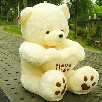 I LOVE YOU U Large Teddy Bear Gift For Her Mum Girlfriend Idea Valentines Day