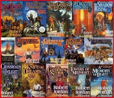 Wheel of Time by Robert Jordan 1-15 AUDIOBOOKS Collection