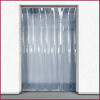 PVC Strip Curtain kit - Chiller/Personnel door application