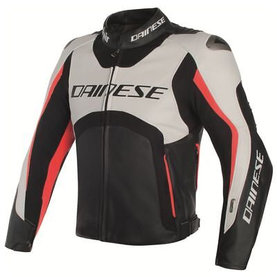 Dainese Misano D-Air Motorcycle Jacket Blk/Wh/fluo (rrp £1499.95)*Now £799.99**