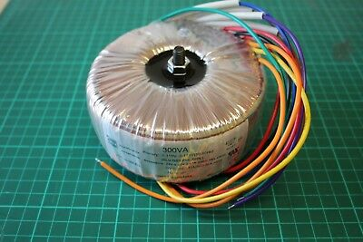 DIY Audio Grade Toroidal Transformer - 300V/A GOSS band and screen grid