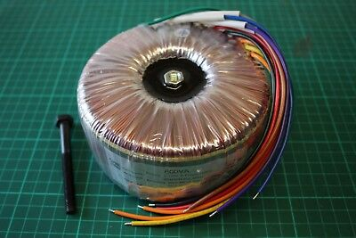 DIY Audio Grade Toroidal Transformer - 600V/A GOSS band and screen grid