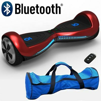 "Swegway 6.5"" Chic Electric Self Balance Hover Scooter 2 wheel Board Bluetooth UK"