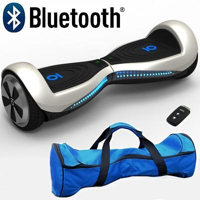 "Genuine Chic IO 6.5"" Electric Self Balance Hover Scooter 2 wheel Board Bluetooth"