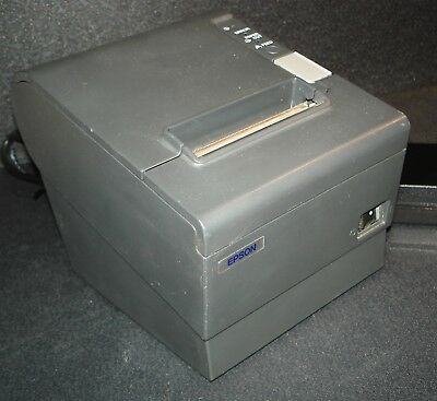 Epson TM-T88IV POS Receipt Printer M129H w/ Parallel Interface & Power Adapter