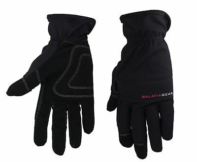 Men Winter Warm Work Gloves Insulated Sky Black Large Heavy Duty Grip