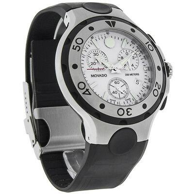 3466e3ece63 Movado Series 800 Mens Swiss Stainless Steel Chronograph Watch 2600025