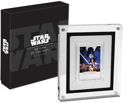 2017 Niue Star Wars Posters Return Jedi Rectangle 1 oz Proof Silver $2 SKU49462