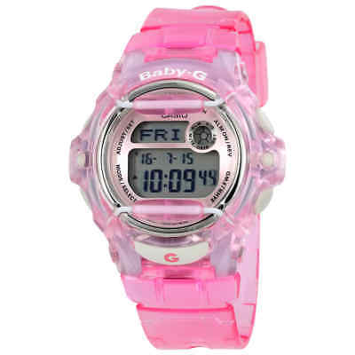 Casio Baby G Pink Resin Digital Ladies Watch BG169R-4