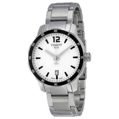 e218fc6508f Tissot Quickster Silver Dial Stainless Steel Men's Watch T0954101103700