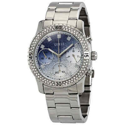 GUESS CONFETTI CRYSTAL Glitter Dial Ladies Watch W0774L6