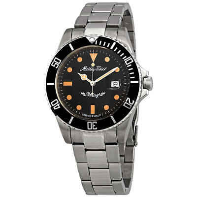 Mathey-Tissot Rolly Vintage Black Dial Men's Watch H901AN