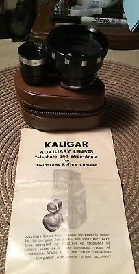 KALIGAR  AUX. Wide Angle BAYONET 4 X4  LENS and Case